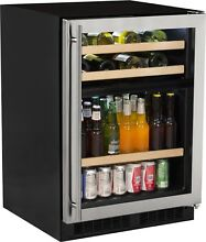 Marvel ML24WBG1RS 24 Inch Dual Zone Wine and Beverage Center