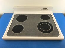 Genuine GE Electric Oven Cootop Glass Assembly WB62X10009