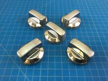 Genuine KitchenAid Range Oven Surface Knob W10295131 WPW10295131 Set of 5