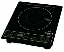 Portable Induction Cooktop Electric Countertop Burner Gold Auto Pan detection