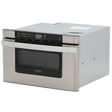 Sharp Insight Pro Series KB6524PSY 24 Inch Built in Microwave Drawer