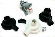 ASKOLL SYNCHRONOUS DRAIN PUMP KIT 3 ADAPTORS WITH SCREWS SAMSUNG LG   UNI088KITB