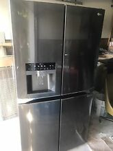 LG LPXS30866D 36  Black Stainless French Door Refrigerator