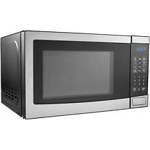 Small Stainless Steel Microwave Miniature for Boat Semi Truck RV Freestanding