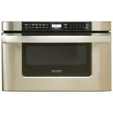 KB 6524PS Microwave Ovens 24 Inch Drawer Oven  Stainless Steel