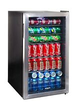 NewAir AB 1200 Beverage Cooler and Refrigerator with Glass Door  BRAND NEW