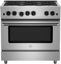 Bluestar RCS366BV2 36in Stainless Steel Gas Range