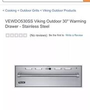 VIKING SD100TSS 30  Outdoor Warming Drawer STAINLESS STEEL Brand New In Box