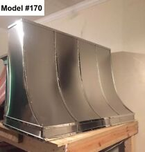 Stainless Vent Hood  Range Hood Fan Incl  All Metals avail    Model  170
