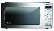Panasonic NN SD775S Countertop Cyclonic Inverter Microwave 1 6 cu ft