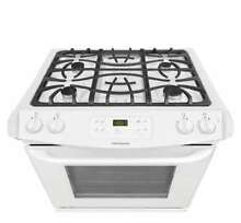 Frigidaire   4 5 Cu  Ft  Self Cleaning Slide In Gas Range   30 INCH White