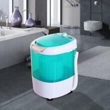 2 In 1 Electric Mini Portable Washing Machine W Air Spin Dryer 5 5Pound Capacity