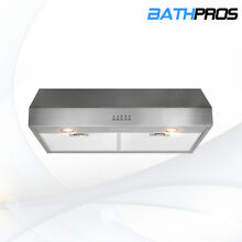 BATH 30  Stainless Steel Under Cabinet Kitchen Range Hood Stove Vent 120V 60HZ