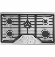 GE Caf  Series 36  Built In Gas Cooktop 5 Burners W  Griddle CGP9536SLSS