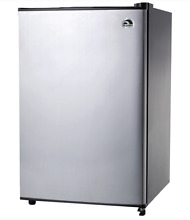 Small Refrigerator   Freezer School Office   Home 3 2 Cu In  Platinum Finish