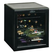 17 Wine Bottle Countertop Fridge Cooler Compact Chiller Cellar Danby DWC172BL