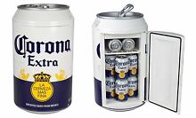 Corona Car Cooler 12v Mini Fridge Beer Bottle Home Bar Den Man Cave Drink Decor