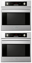 Verona VEBIEM241SS 24  2 Single Electric Wall Oven Built In 110 Volt Stackable