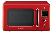 Countertop Microwave Oven Retro Two Way Defrost 700 Watts 0 7 Cubic Foot Red NEW