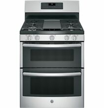 GE JGB660SEJSS 30  Gas Freestanding Range 5 Burners in Stainless Steel