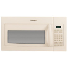 1 6 Cu  Ft  1000W Over the Range Microwave Color  Bisque