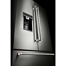 KitchenAid KRFC704FSS 36  Counter Depth French Door Refrigerator Platinum 2017