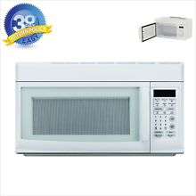 Over the Range Microwave Auto Cook Magic Chef Heats Exhaust Fan 1 6 cu ft White