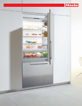 Miele MasterCool Series  KF1901SFRH 36 Inch Built In Bottom Freezer Refrigerator