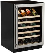 Marvel  ML24WSG0RS 24 Inch Built In Single Zone Wine Refrigerator