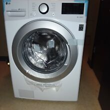 LG 4 5 cu ft  Ultra Large Capacity Front Load Washer w  Coldwash Technology WiFi