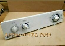 GE DRYER CONTROL PANEL PART  572D662G43  control board and all knobs included