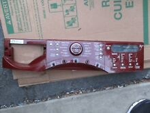 Control Board W10319812  8183157 with red console  321 442