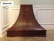 Copper Custom Hood  Range Hood  Incl  Motor  Wall Or Island Hood   Model  10