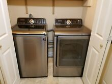 Samsung Platinum Washer and Dryer Set