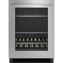 Jenn Air 24  Stainless Steel under Counter Beverage Center Jub 24 Flers New S