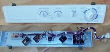 Frigidaire Dryer Control Panel Frame Timer Knobs Temperature Switch