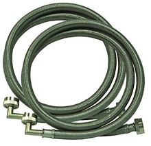 Eastman 48377 Washing Machine Hose with 90 Degree Elbow  1 Pair