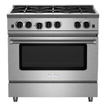 Blue Star RNB366BV2 36  Stainless Steel Gas Range