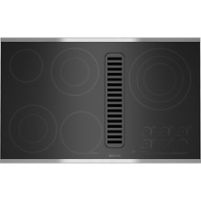 Jenn Air JED4536WS Stainless Steel 36  Electric Cooktop NewS D Near Perfect 1 Yr