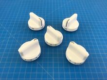 Genuine Frigidaire Range Oven Surface Burner Knob 316545005 Set of 5
