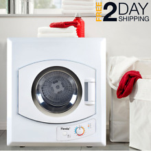 Electric dryer compact apartment portable laundry machine home stainless steel