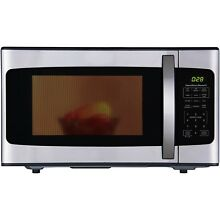 Hamilton Beach Microwave Oven 1 1 cuft stainless steel