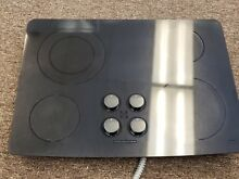 JENN AIR CERAN BLACK GLASS ELECTRIC COOKTOP STOVE TOP 4 BURNER MODEL CCE3401B