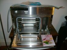 Miele 24  Steam Oven  Model DG155  Stainless Steel and Built in