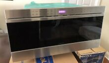Wolf MDD30TE S 30  Microwave Oven Transitional Drawer Stainless Auto Open Close