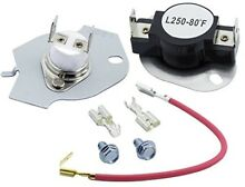 Electric  Dryer Heating Element Whirlpool Kenmore 279838 Part Thermostat Kit