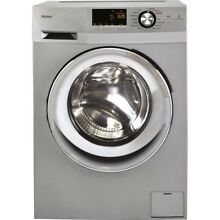 2 0 cu  ft  Silver High Efficiency Washing Machine Electric Washer Dryer Combo