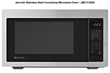 Jenn Air JMC1116AS 22  Stainless Steel Counter Top Microwave Oven New