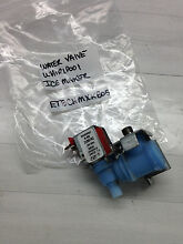 Whirlpool Refrigerator Water Valve Icemaker 2188782 Mdl ET8CHMXKB05 Part  AG