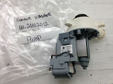 Kenmore Washer Water Pump W10276397 Mdl 110 21102012 Part  AG